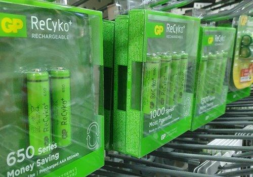 Batterij oplaadbaar