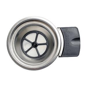 coffeeduck Coffeeduck Senseo-Apparaat Zilver/Zwart