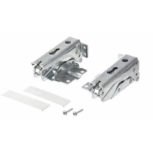 Bosch 481147, 00481147 Scharnier metaal, set 2 stuks