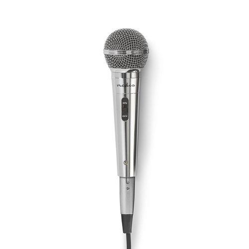 nedis Bedrade Microfoon / Gevoeligheid -72 dB +/-3 dB / 60 Hz - 14 kHz / 5,0 m