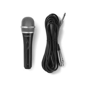 nedis Bedrade Microfoon / Gevoeligheid -72 dB +/-3 dB / 50 Hz - 14 kHz / 5,0 m