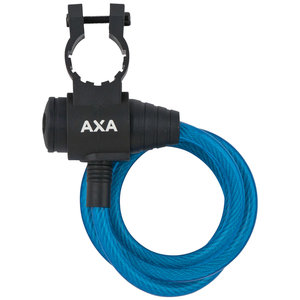 Axa AXA Zipp kabelslot blauw 120cm eu8mm