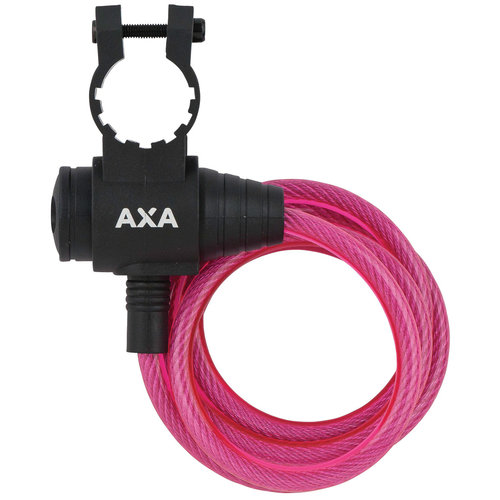 Axa AXA Zipp kabelslot roze 120cm