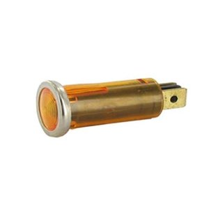 Universeel Controle lamp amber 12 Volt