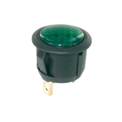 Universeel Controle lamp groen 12 Volt