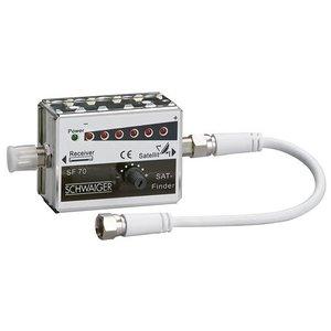 Schwaiger Satfinder Sat-Finder Led met geluidsindiciatie
