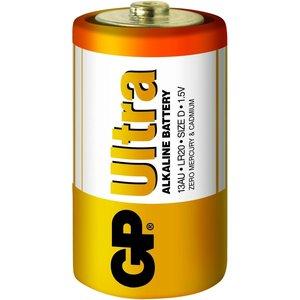 GP G.P Batterij Alkaline Ultra Lr20 1.5V Monocel Bls2