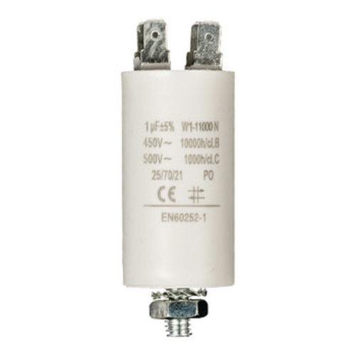 nedis Condensator 1.0uf / 450 v + Aarde