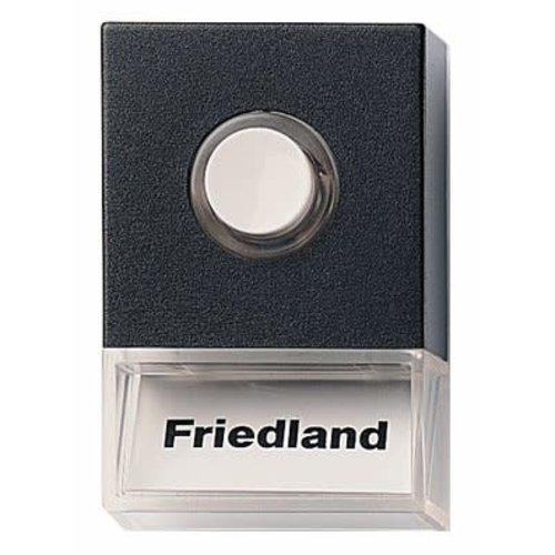 Honeywell Friedland Beldrukker D723 Pushlite Zwart Opbouw