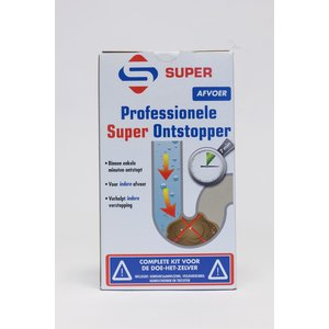 SuperCleaners Reiniger Super Ontstopper Kit