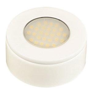 NOVA LED opbouw/inbouwspot meubel Wit 1,7W 230V