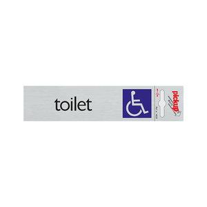 Pickup Route Alulook 165x44 mm Toilet toeg. voor rolstoel
