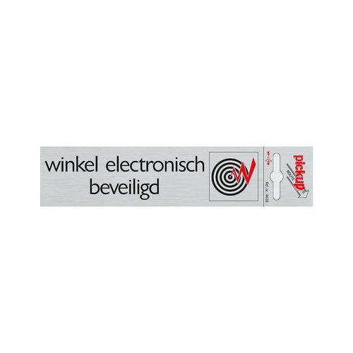 Pickup Route Alulook 165x44 mm Winkel electr. beveiligd