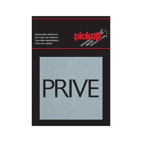 Pickup Route Alu Picto 80x80 mm prive