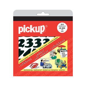 Pickup Cijferboek CooperBlack zwart 25 mm