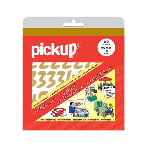 Pickup Cijferboek Vivace goud 25 mm