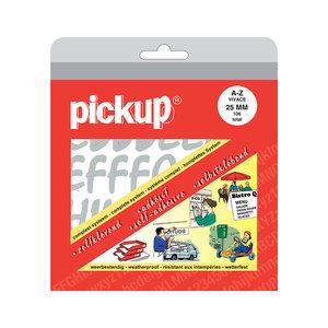 Pickup Letterboek Vivace zilver 25 mm