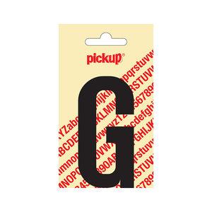 Pickup Plakletter Nobel 90 mm zwart G