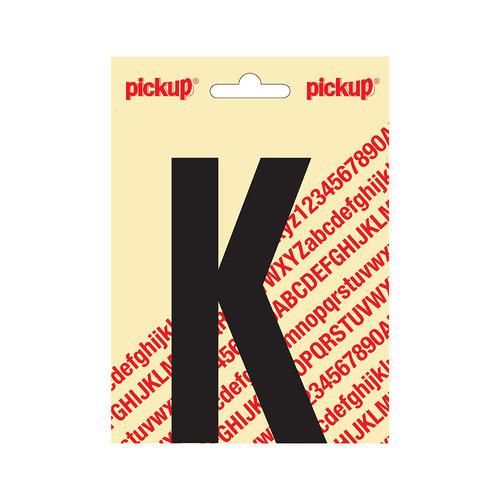 Pickup Plakletter Nobel 120mm zwart K
