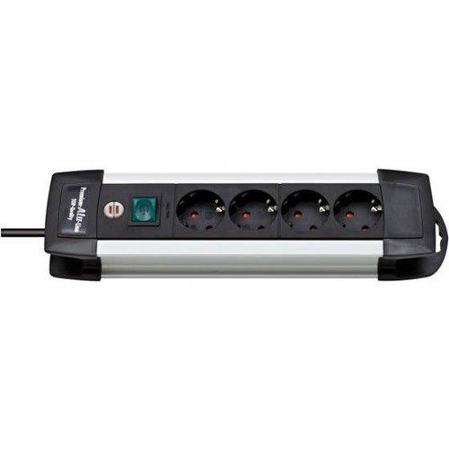 Brennenstuhl TCD Pro 3x1,5mm2 3500W 16A Alu/Zwart