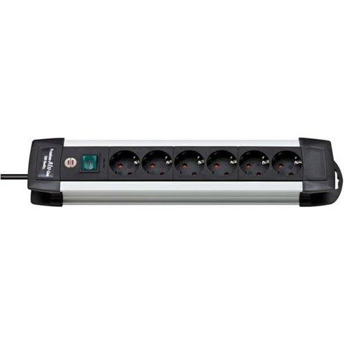 Brennenstuhl TCD Pro 3x1,5mm2 3500W 16A Alu/Zwart 3M 5.39.00.33-0