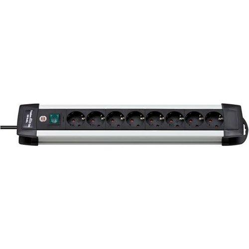 Brennenstuhl TCD Pro 3x1,5mm2 3500W 16A Alu/Zwart 3M