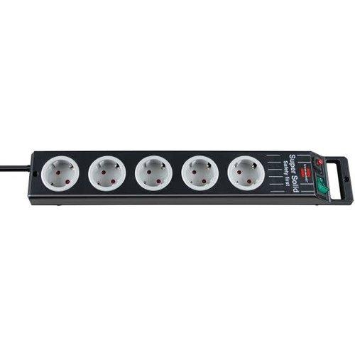 Brennenstuhl TCD Pro 3x1,5mm2 3500W 16A Zwart 2,5M