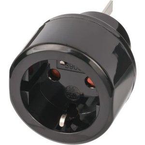 Brennenstuhl Stekker Reisadapter veiligheidscontact Aus, China