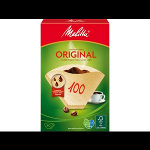 Melitta Filter bruin, 40 stuks