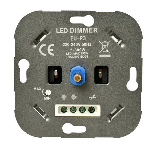 Ratio ratio led dimmer muur dimmer 5 - 150w inb