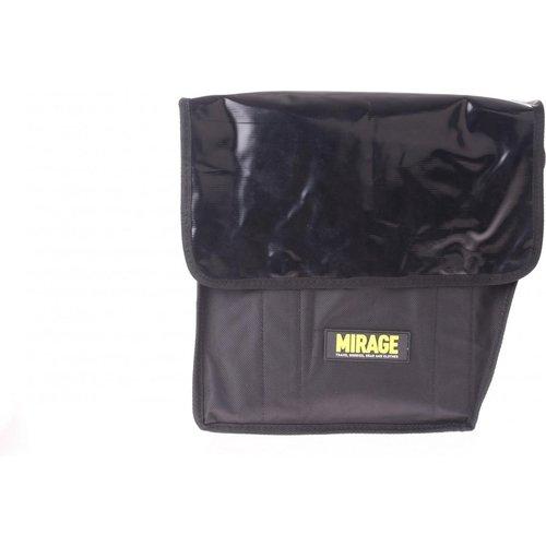 Mirage Mirage dubbele fietstas bisonyl/pol / Zwart / Afgeschuind / 32L