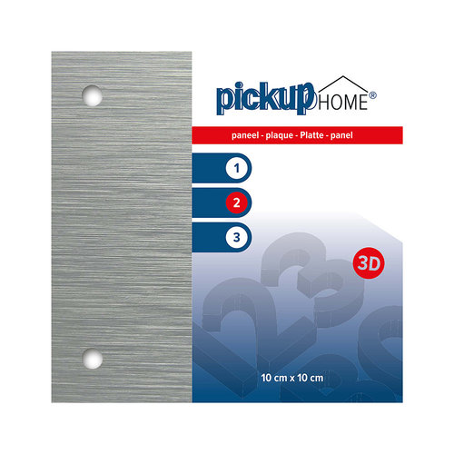 Pickup 3D Home plaat alu sandwich 3 mm 10 x 10 cm
