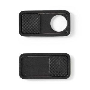 nedis Privacy-cover / Voor notebooks en tablets / Snel aan te brengen / 3-pack / Zwart