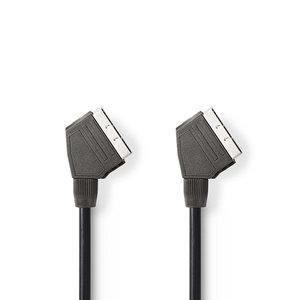 nedis SCART-Kabel / SCART Male - SCART Male / 2,0 m / Zwart