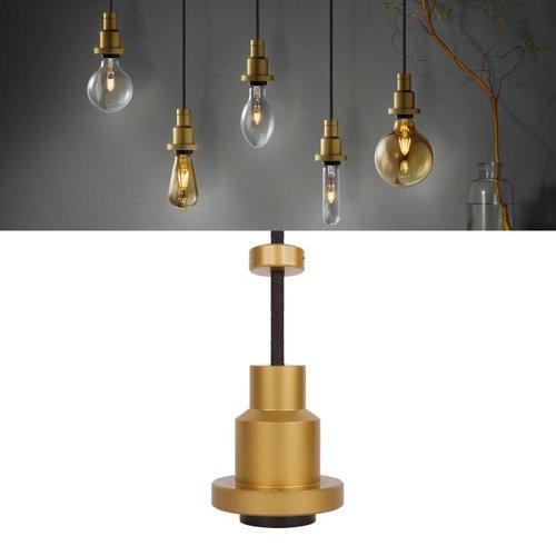 Osram Lamphouder Vintage 1906 Pendulum Gold