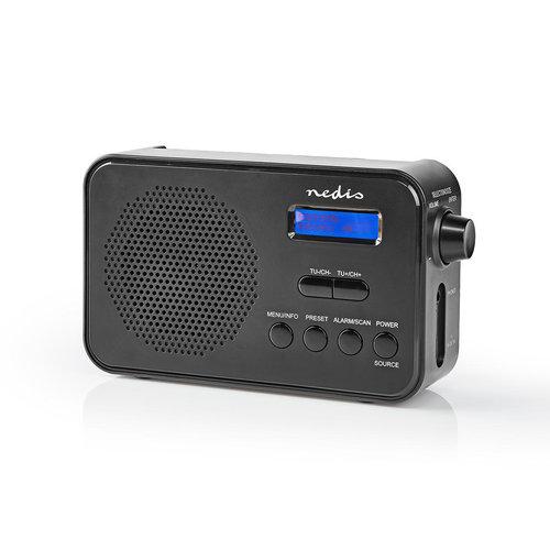 nedis DAB+ Radio | 3,6 W | FM | Klok & Wekker