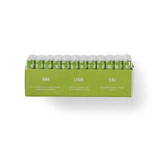 nedis Alkaline batterij AAA / 1,5 V / 48 stuks / doos