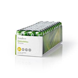 nedis Alkaline batterij AA / 1,5 V / 48 stuks / doos