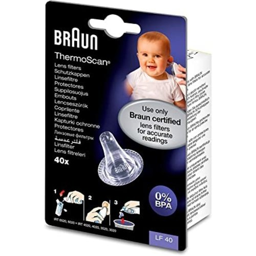 Braun LF40 Filter Wegwerp lensfilters voor Thermoscan