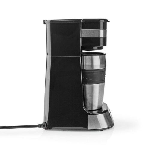 nedis 1-Kops Koffiezetapparaat | Dubbelwandige Reisbeker | 0,42 L | Timer