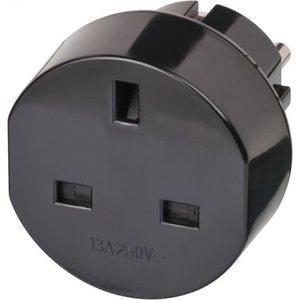 Brennenstuhl Stekker 13A 3120W 250V RA zwart
