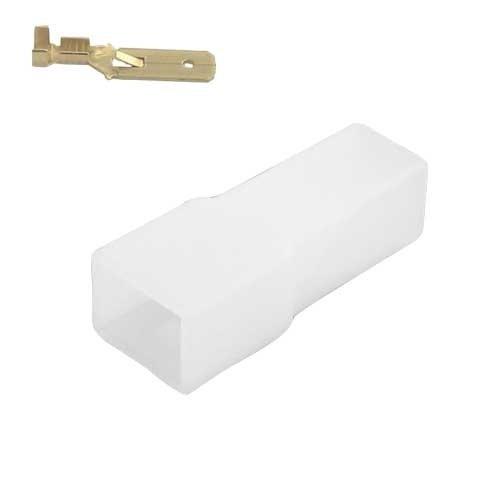 Universeel 1 polig female connector set