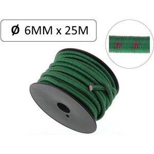 Benson elastiek op rol 6 mm x 25 meter