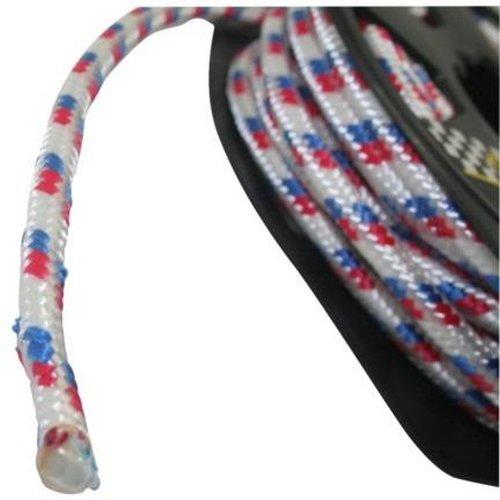Benson touw haspel compact 8mm x 10 meter wit blauw