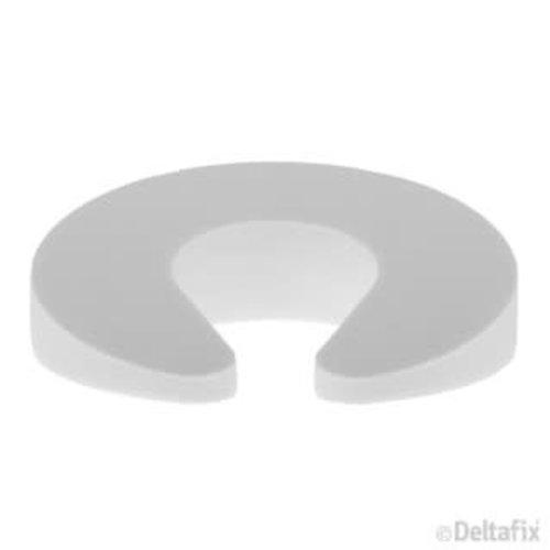 Deltafix deur- & vensterstop multi wit 1 stuks