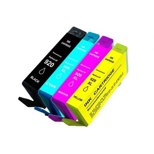 SecondLife Inkjets SecondLife - Multipack HP 920 BK, C, M en Y 20+12*3