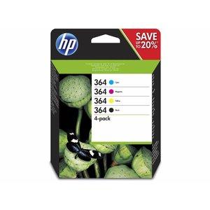 HP Hewlett-Packard HP No.364 MultiPack Z/C/M/G 15ml (Origineel)