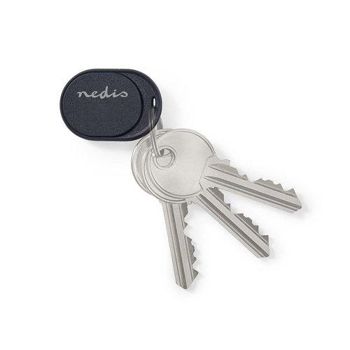 nedis Tracker / Bluetooth / Werkt tot 50 m / Klein ontwerp / Donkerblauw
