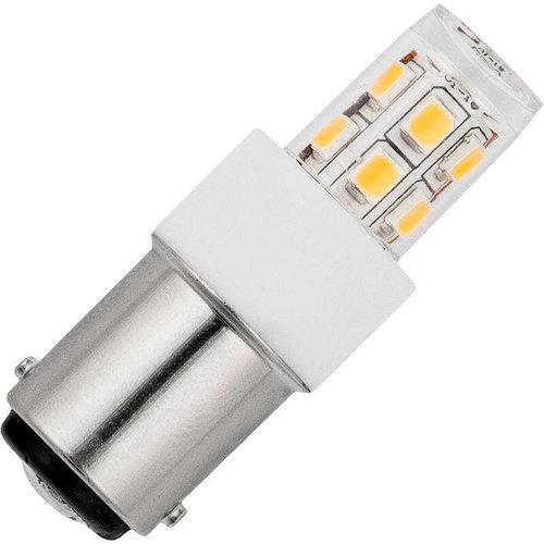 SPL SPL LED SMD Buisl Ba15D Helder2.5W- 25W 250L 17x47mm No-Dim L024352227