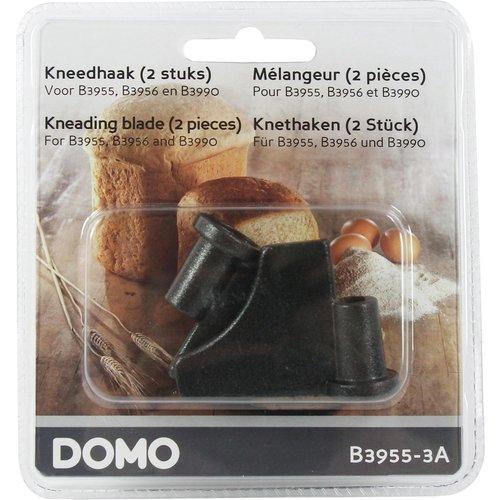 Domo B3955-3A Kneedhaak, 2 stuks